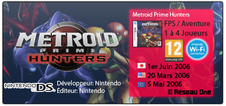 Metroid Prime Hunters | NDS 111207mphpng