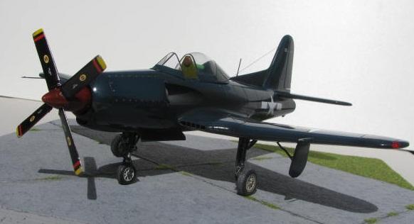 Montage terminé: Ryan XF2R-1 Czech Model 1/48 112931IMG1401
