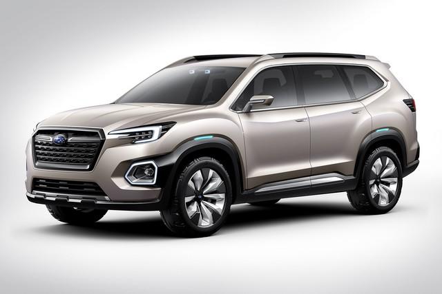 Subaru a dévoilé le concept VIZIV-7 SUV au salon Los Angeles 2016  113548galleryphoto5