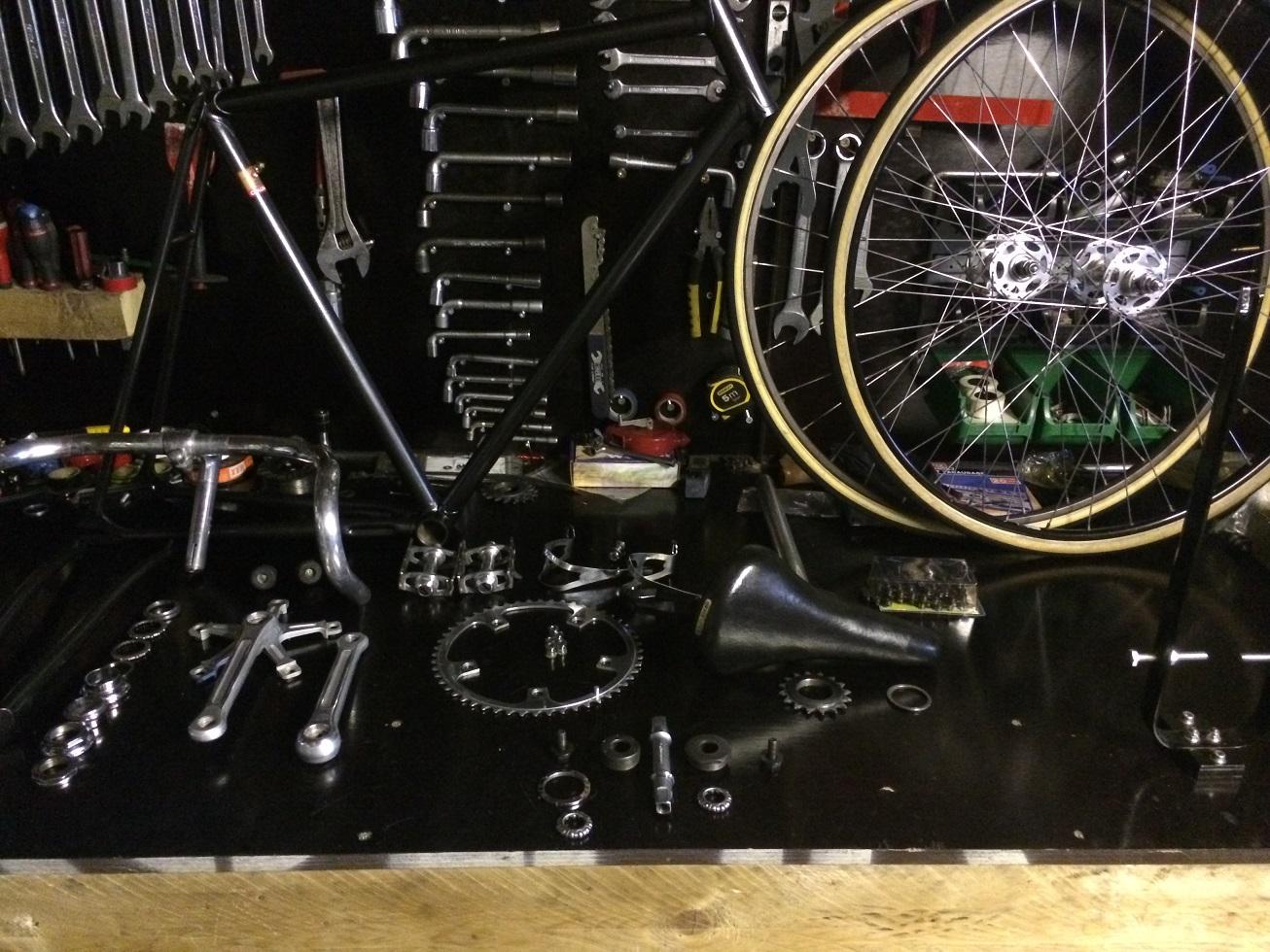 Vélo de piste Jean Marie Brun Tubes Columbus 114076IMG2487