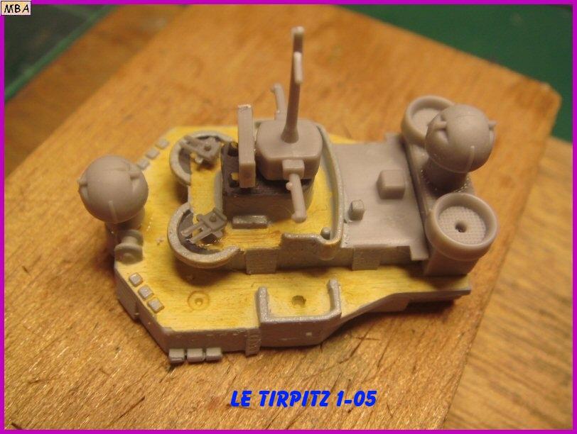 Le TIRPITZ au 1/700ème - DRAGON 114109Tirpitz05