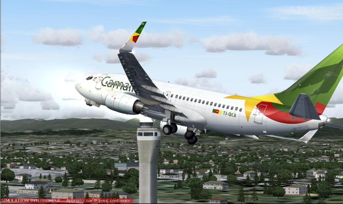 """Cameroonising Heavily"" Flight Simulator for a while now... 114165CaptureG"