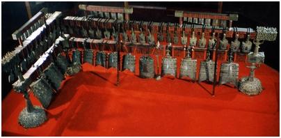 Les instruments de musique.  115334Bianzhong