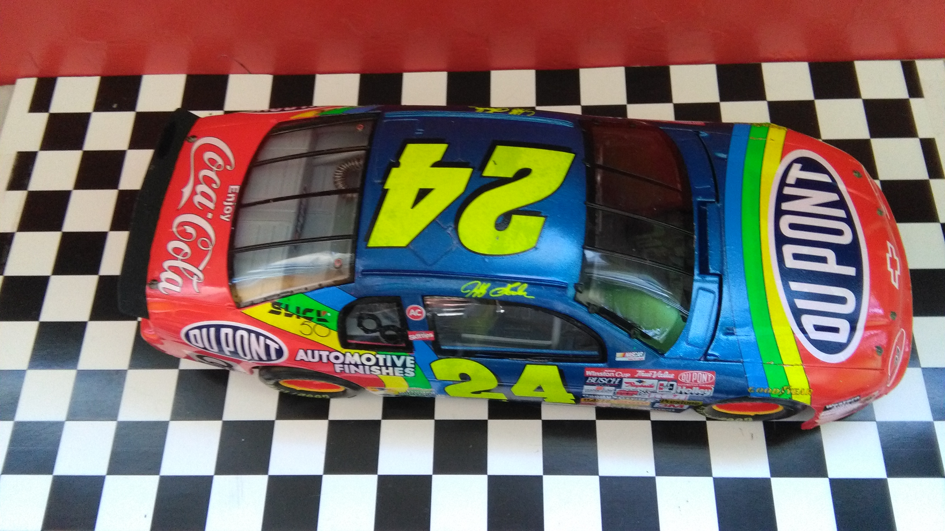 Chevy Monte-Carlo 1996 #24 Jeff Gordon Dupont Dover wins  116374IMG20170521140653
