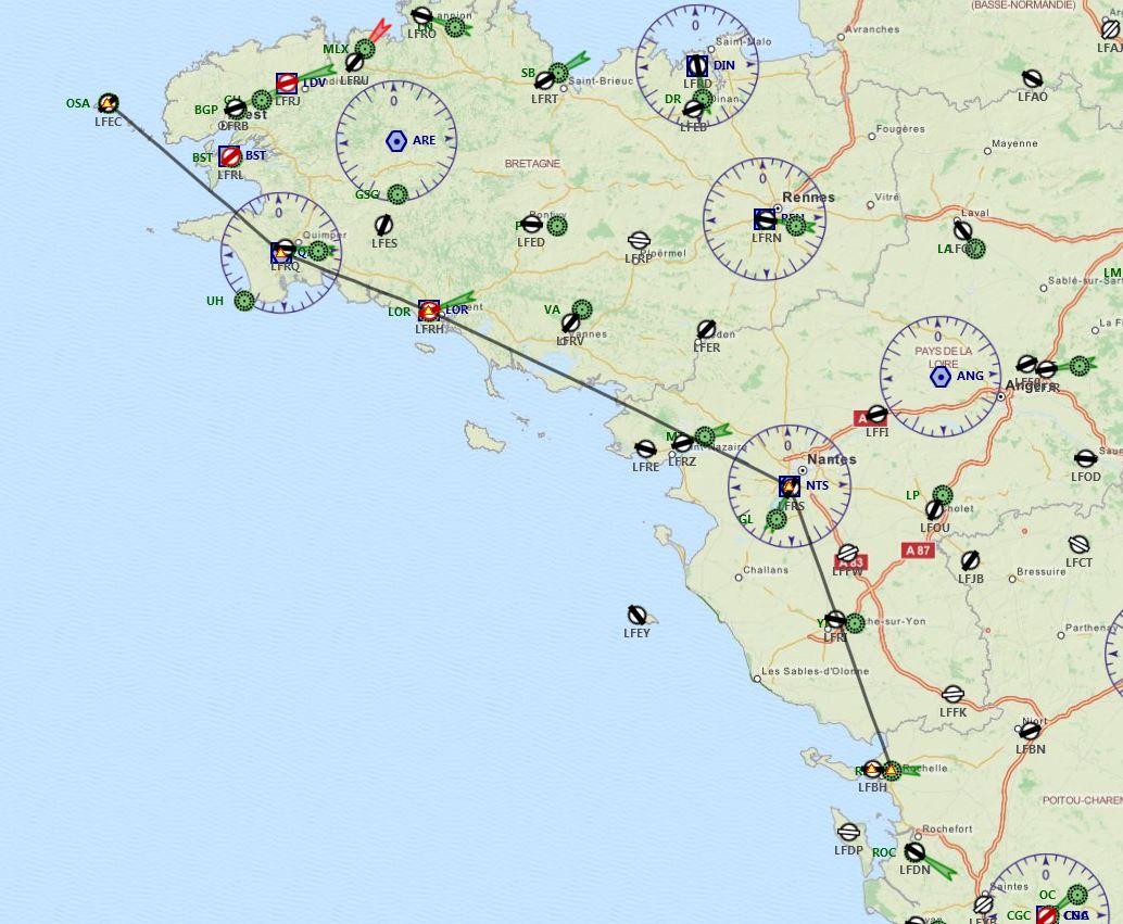 Ouessant (LFEC) à Ile de Re (LFBH) 116513141