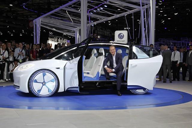 La première mondiale de l'I.D. lance le compte à rebours vers une nouvelle ère Volkswagen  117287DB2016AL01997large