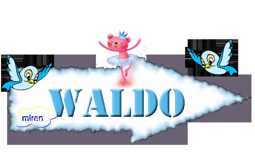 Nombres con W 1181894Waldo