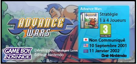 Advance Wars | GBA 118728AdvanceWars