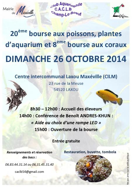 Bourse - Champ-le-Boeuf (54) - Dimanche 26 octobre 2014 119544AfficheBourseCACLB2014page0001