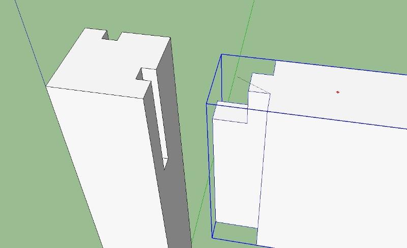 Déplacer avec Précision un Composant avec Sketchup 121278Sanstitre