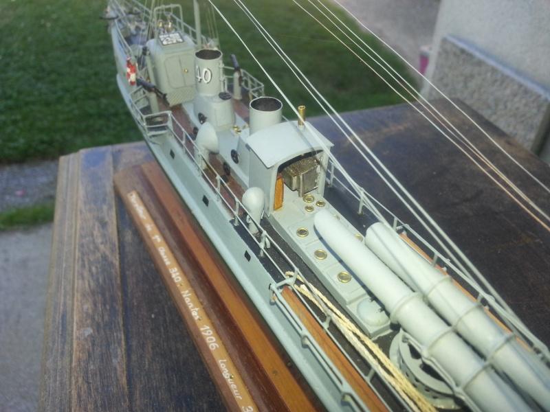 le contre torpilleur la Bombarde de 1903 et le torpilleur numéroté 340 de 1904 12275020160907135654