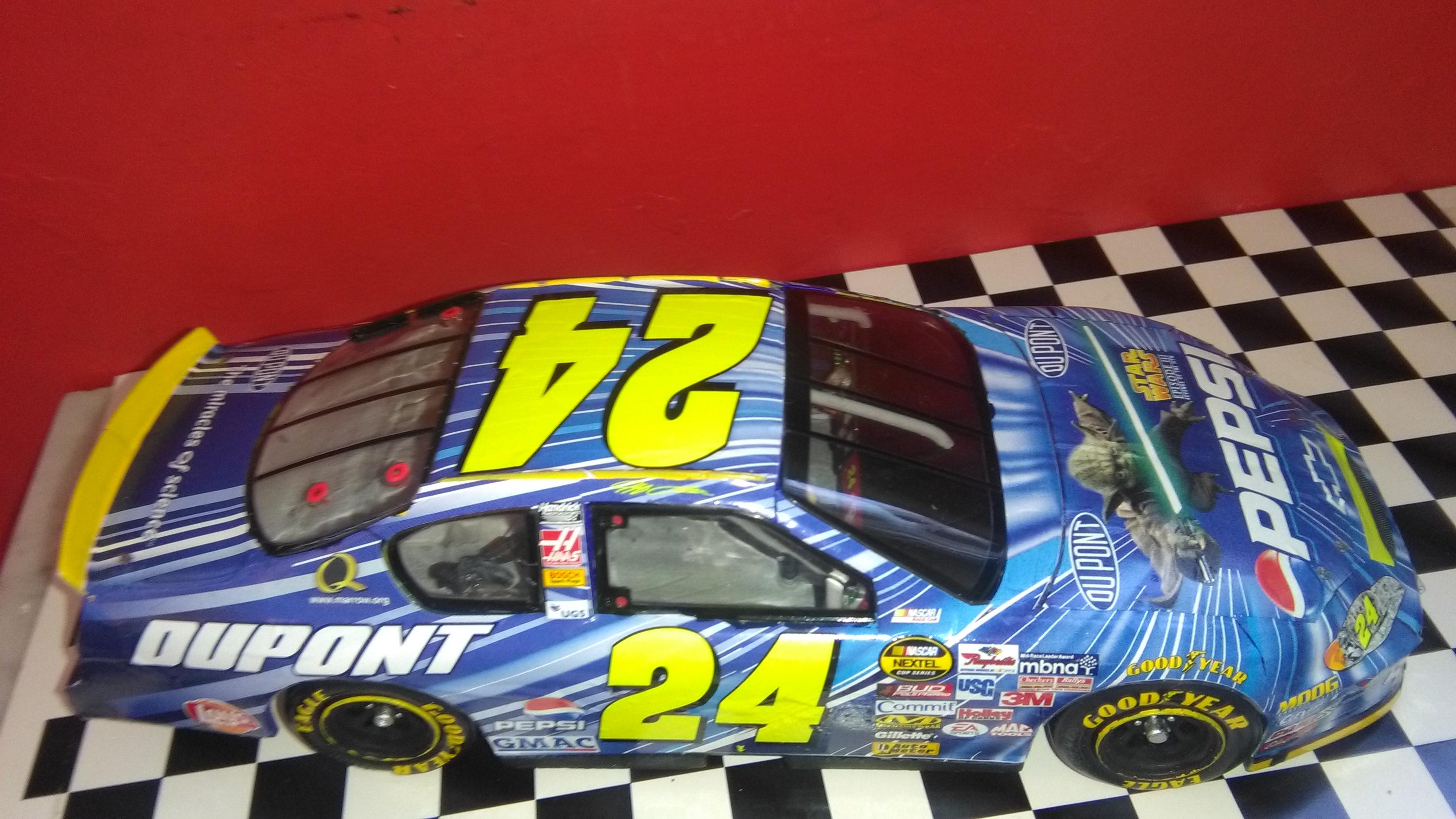 Chevy Monte-Carlo 2005 #24 Jeff Gordon Pepsi/Star Wars  123862IMG20170430170048