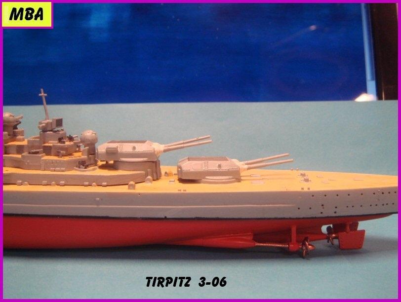 Le TIRPITZ au 1/700ème - DRAGON - Page 2 125150Tirpitz306