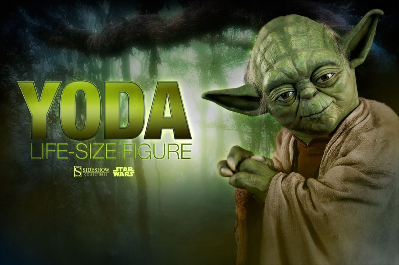Sideshow Collectibles - Star Wars Yoda Life-Size Figure 125412321