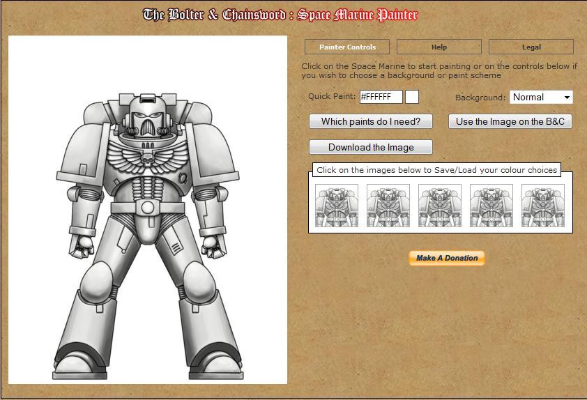 Inventez vous mêmes vos Spaces Marines avec Bolter and Chainsword Painter 126846Bolterandchaine