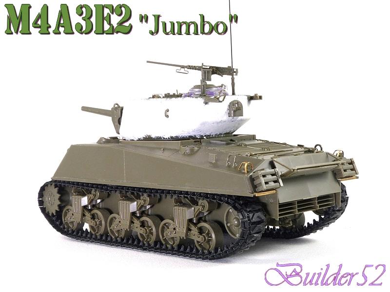 SHERMAN M4A3E2 JUMBO - TASCA 1/35 127537P1050233