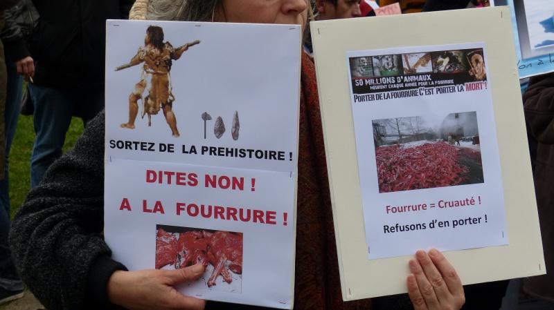 13 - Marche Contre La Fourrure - Paris 24 novembre 2012. 130287P1010237