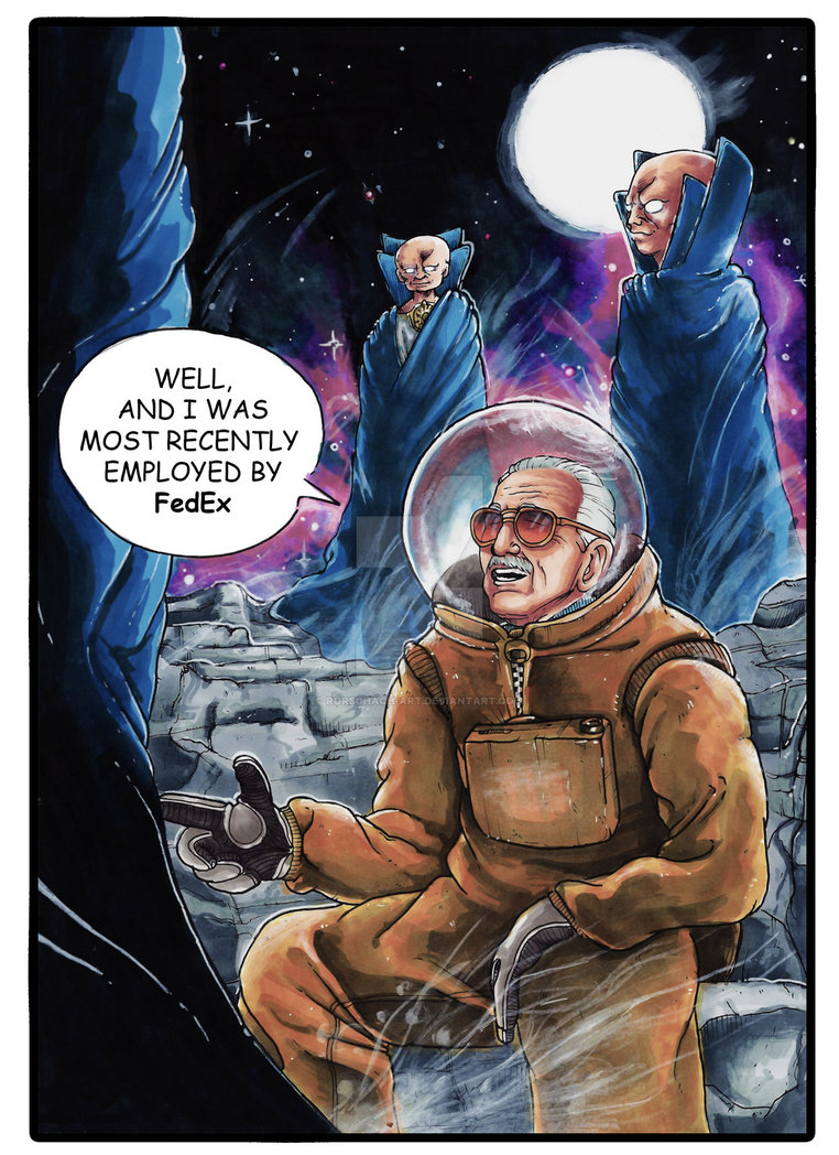 Stan Lee -  - Page 2 131114guardiansofthegalaxy2stanleecameobyrorschachartdb7ff3p
