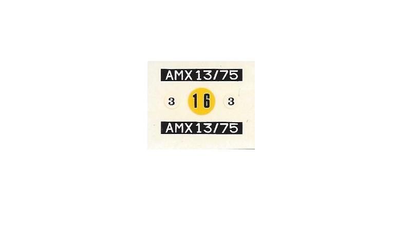AMX 13 canon de 75 - (Réf. L784) 1/35 133704AMX1375784014Heller135