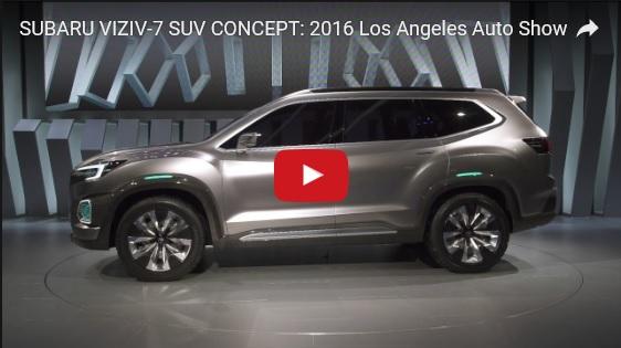 Subaru a dévoilé le concept VIZIV-7 SUV au salon Los Angeles 2016  133823subaruviziv7suvconcept
