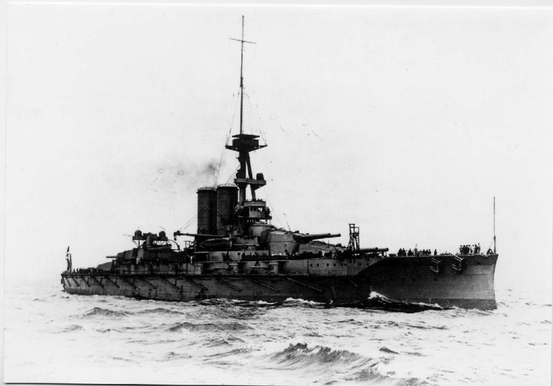 ROYAL NAVY CUIRASSE HMS ERIN  134605erin1b