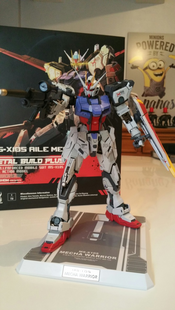 Review/Edito : Strike Gundam Metal Build 1/72 by Moshow la leçon Chinoise donnée a Bandai  136783201610061429151