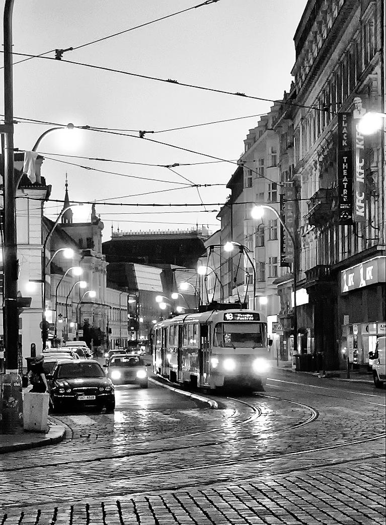 le tramway à Prague 137856prague_ShiftN