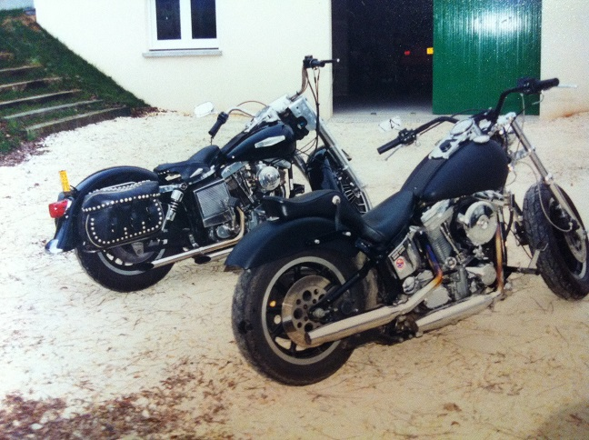 Les vieilles Harley....(ante 84)..... - Page 37 138409IMG2446