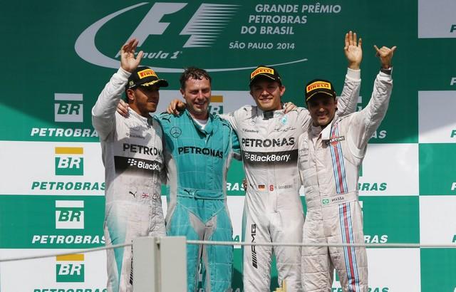 F1GP du Brésil 2014 : Victoire Nico Rosberg 1408892014podium1