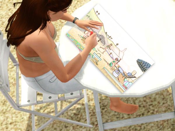 Studio Linette - Galerie - Page 15 141663Linettedessinezoomdessin