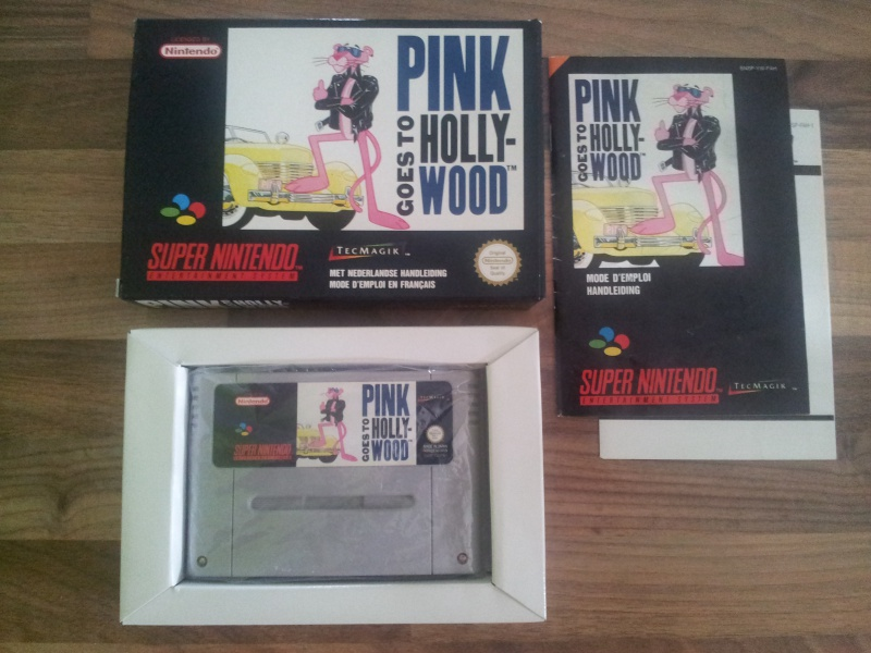 Prupru's Collection ! 100% Super Nintendo et 200% Super Comboy !! - Page 16 141889PinkGoestoHollywood