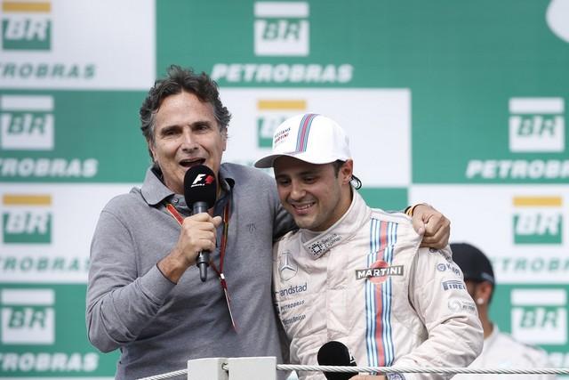 F1GP du Brésil 2014 : Victoire Nico Rosberg 142996NelsonPiquetetFelipeMassa