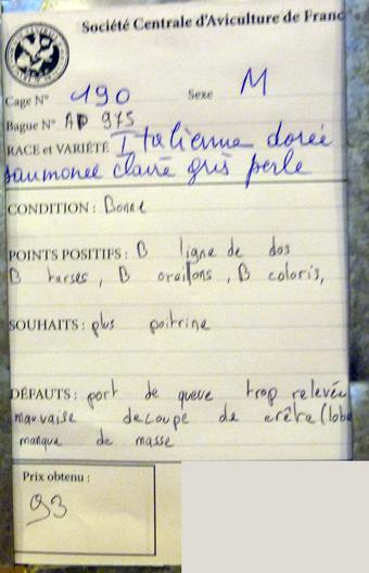 salon de l'Aviculture de Paris du 22/02/2014 au 02/03/214 - Page 4 143037P1130635