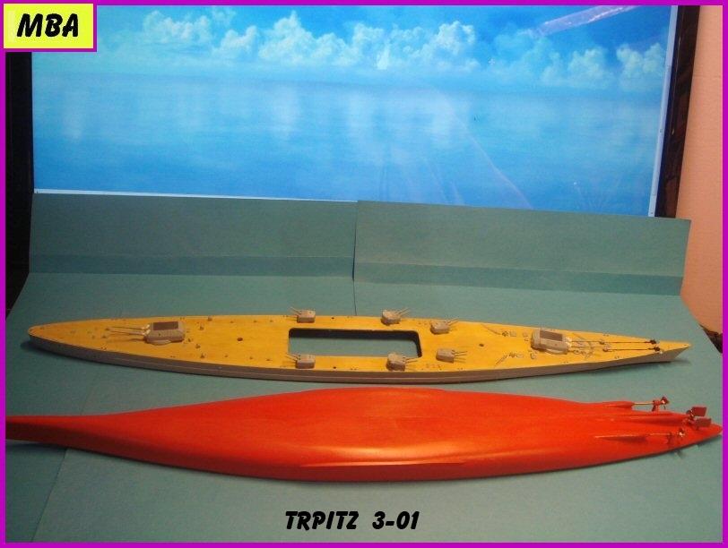 Le TIRPITZ au 1/700ème - DRAGON - Page 2 143832Tirpitz301