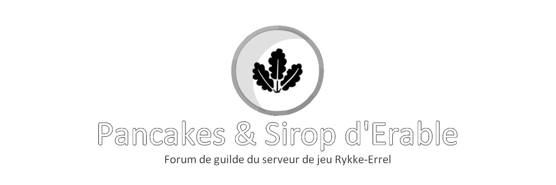 Pancakes et Sirop d'erable