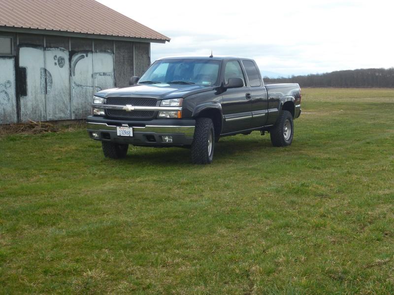 Chevrolet Silverado V8 5,3L 2003 144057P1040072