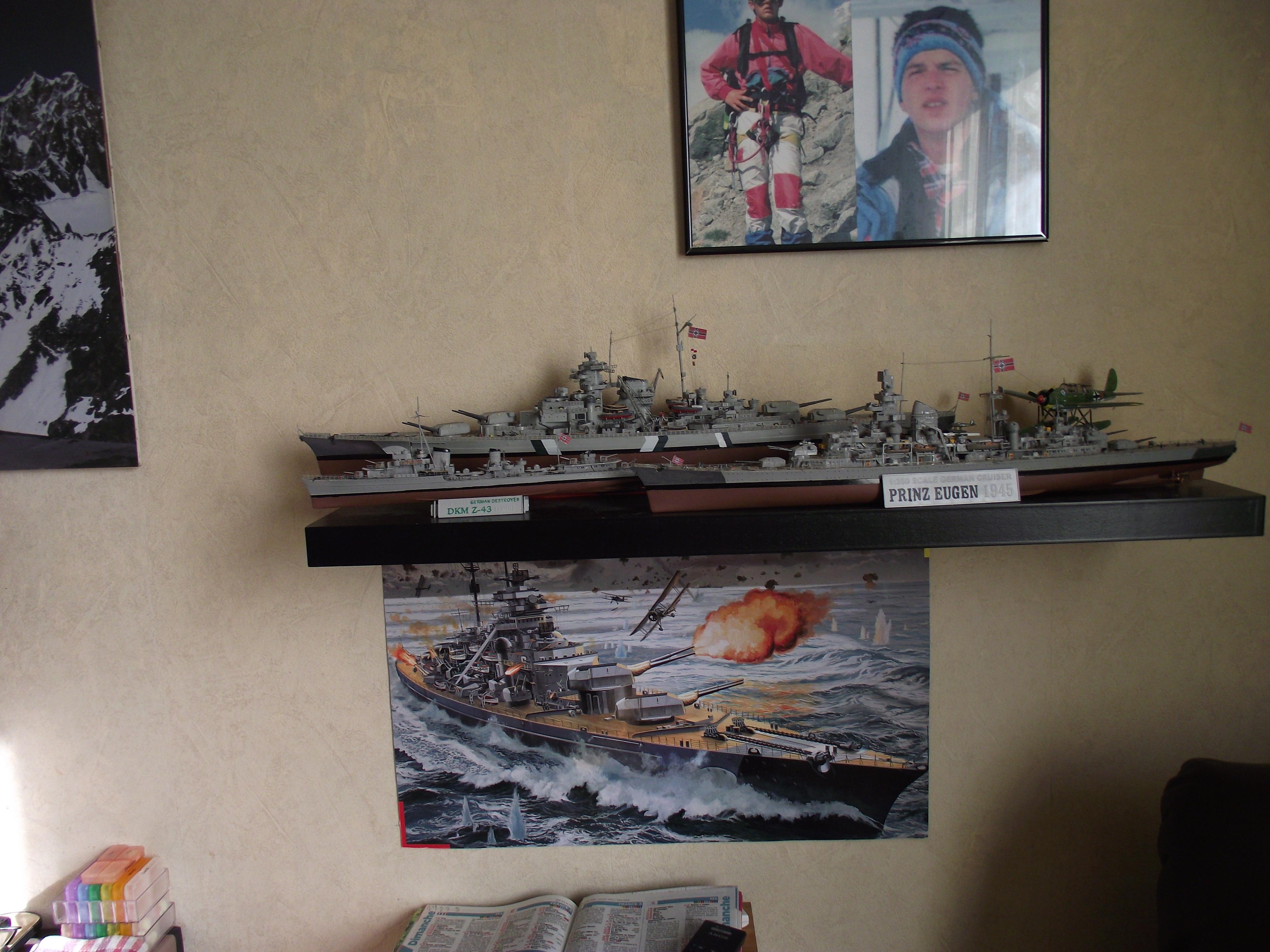 Prinz Eugen Trumpeter au 1x350 145881299