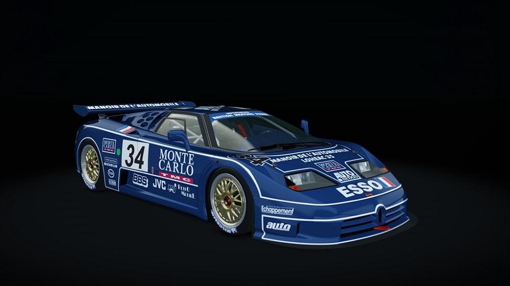 Pack Bugatti (Original Mods) 150554EB110LM