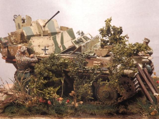 sd.kfz 140 flakpanzer (gépard) maquette Tristar 1/35 - Page 3 152953P8310001
