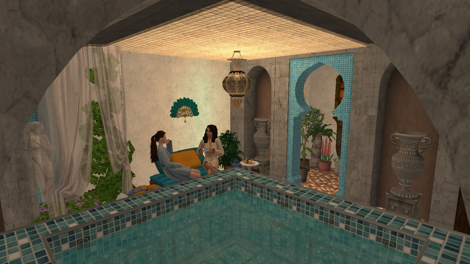 La grotte de Yaya : a SIMS 2 world 154426Animationcarte2original