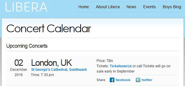 Concert de Noël à Londres le 2 décembre 2016 155644Annonce1