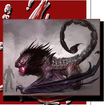 Bestiaire: Les créatures de la Grèce antique, entre Fantastique et réalité. 156414manticore