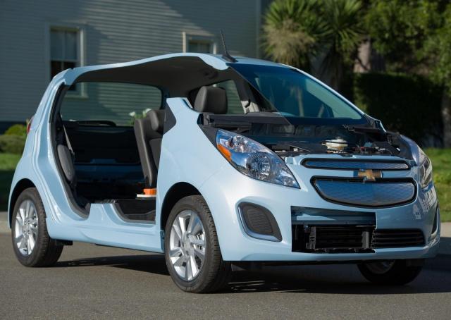 salon de Los Angeles 2012 : la Chevrolet Spark EV  156774ChevroletSparkEV10