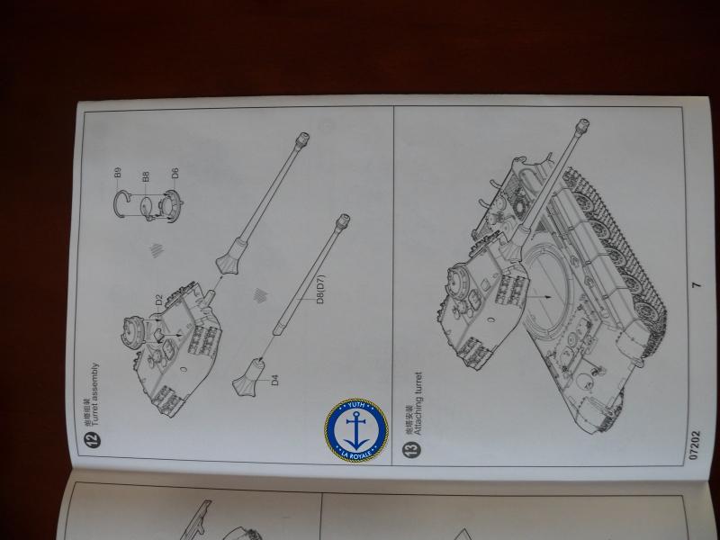 """Konigstiger """"porsche turret"""" 1/72 Trumpeter 157672P1080395"""