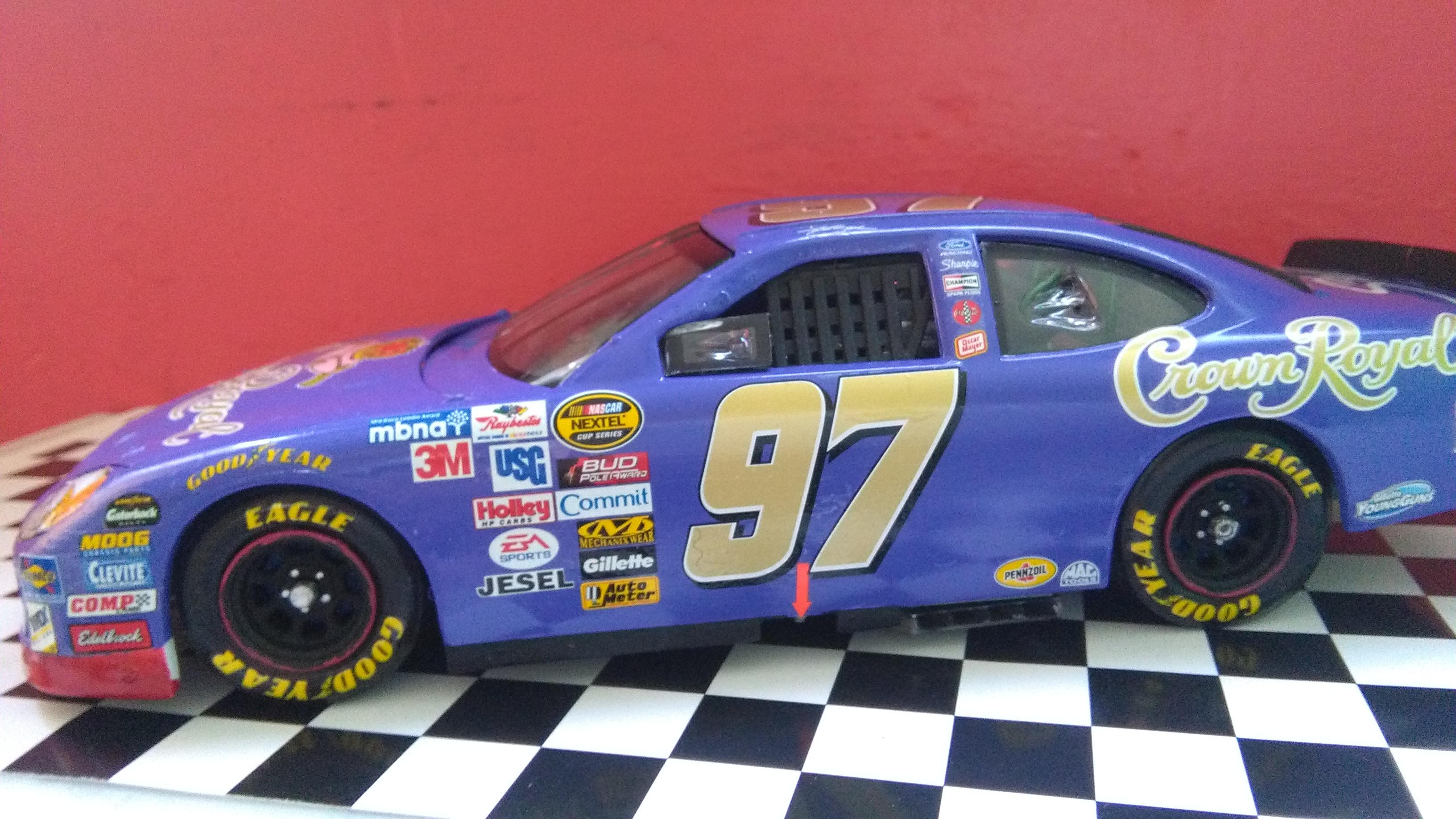Ford Taurus 2005 #97 Kurt Busch Crown Royal  157701IMG20170430145430