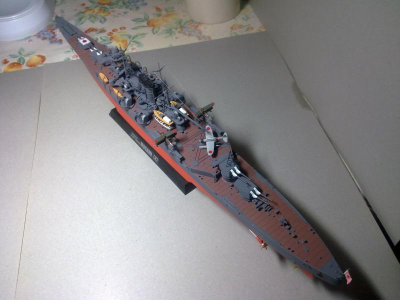 croiseur lourd Mogami au 1/350 par Pascal 94 - Tamiya  - Page 7 158179190120111124