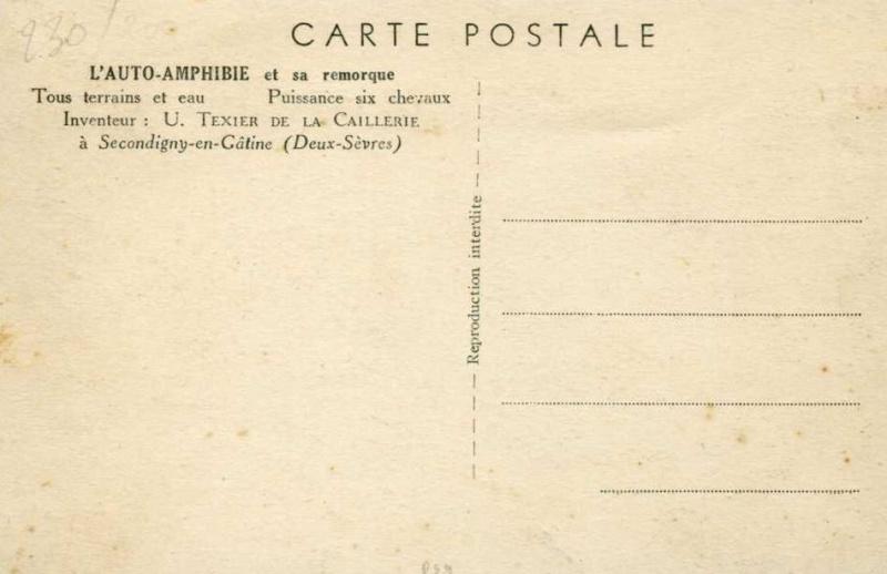 Ulysse Texier de la Caillerie et ses amphibies 159942Capture