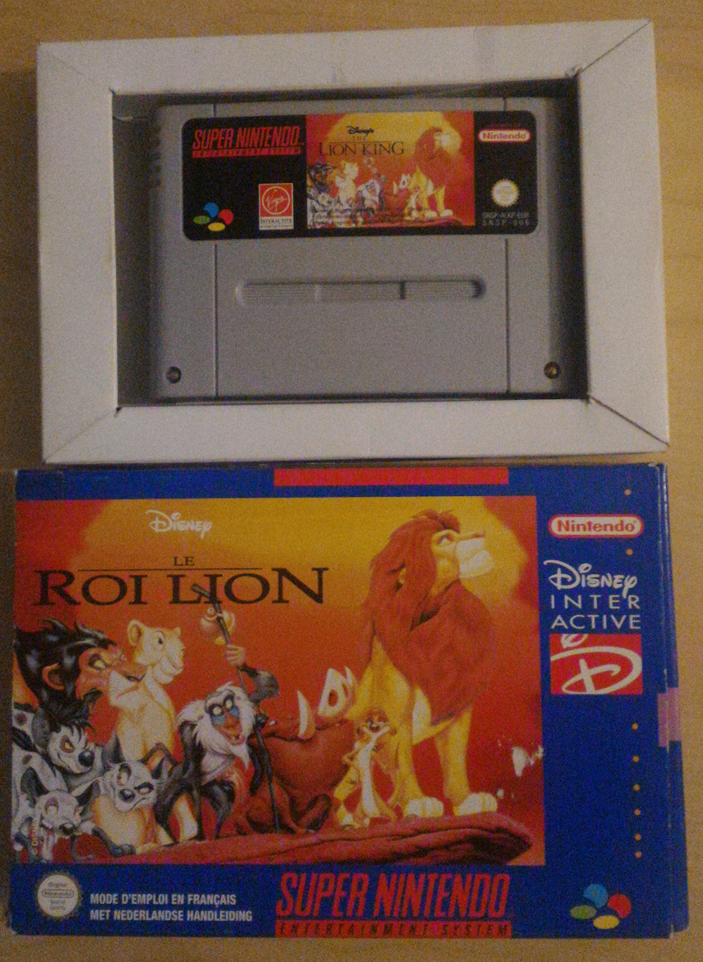 [Question] Le roi lion SNES, il sort d'où ? 160054Leroilion01