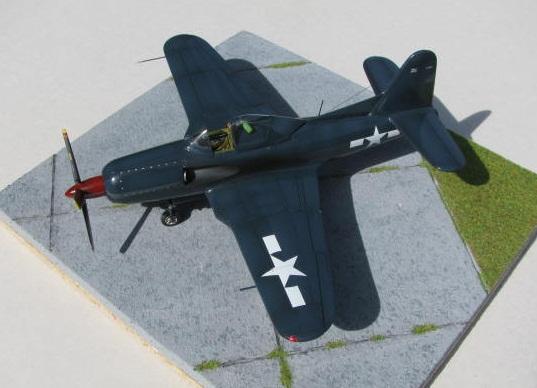 Montage terminé: Ryan XF2R-1 Czech Model 1/48 160711IMG1396