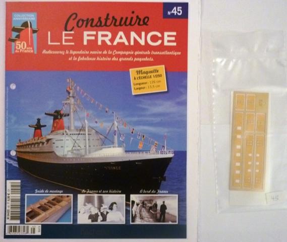 Le france  au 1/250è - hachette-Amati - Page 7 161515Fasc045r